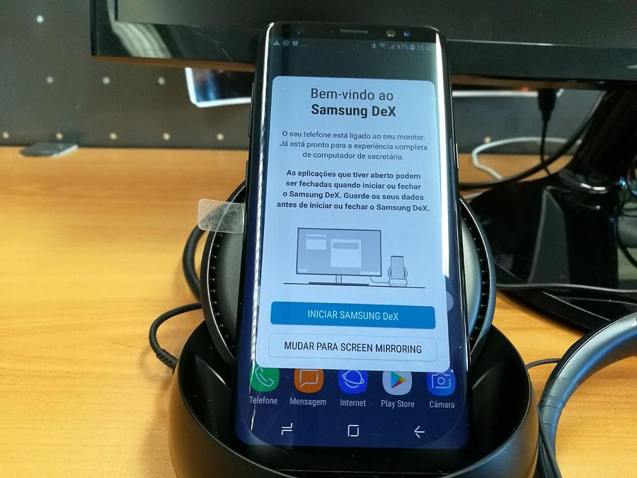 Dex, a base da Samsung para ampliar a experiência com o S8