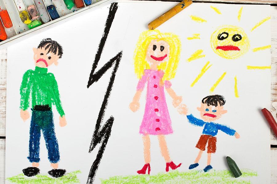 Quando o divórcio separa os pais dos filhos