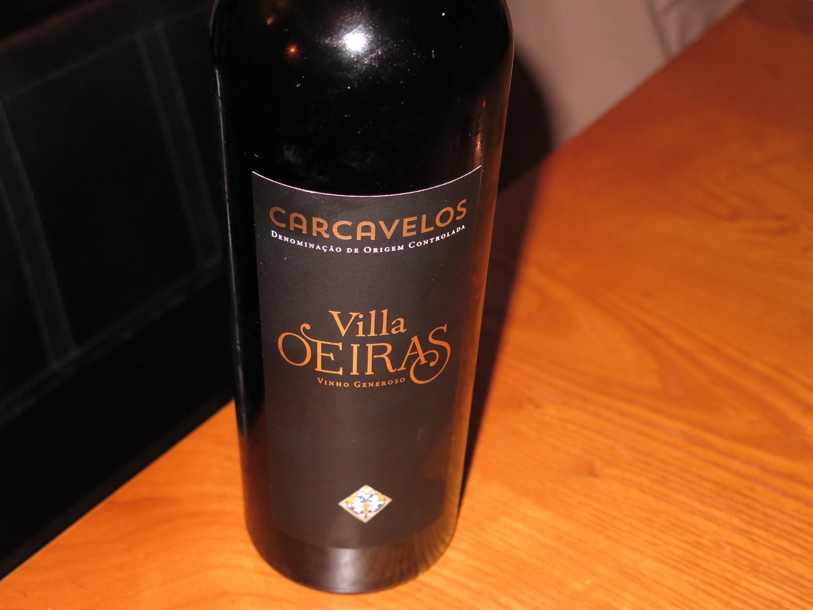 Olavo Silva e o Villa Oeiras, Carcavelos DOC, 10 anos