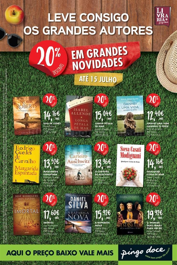 Antevisão Folheto PINGO DOCE Livros Promoções a partir de 2 julho d1.jpg