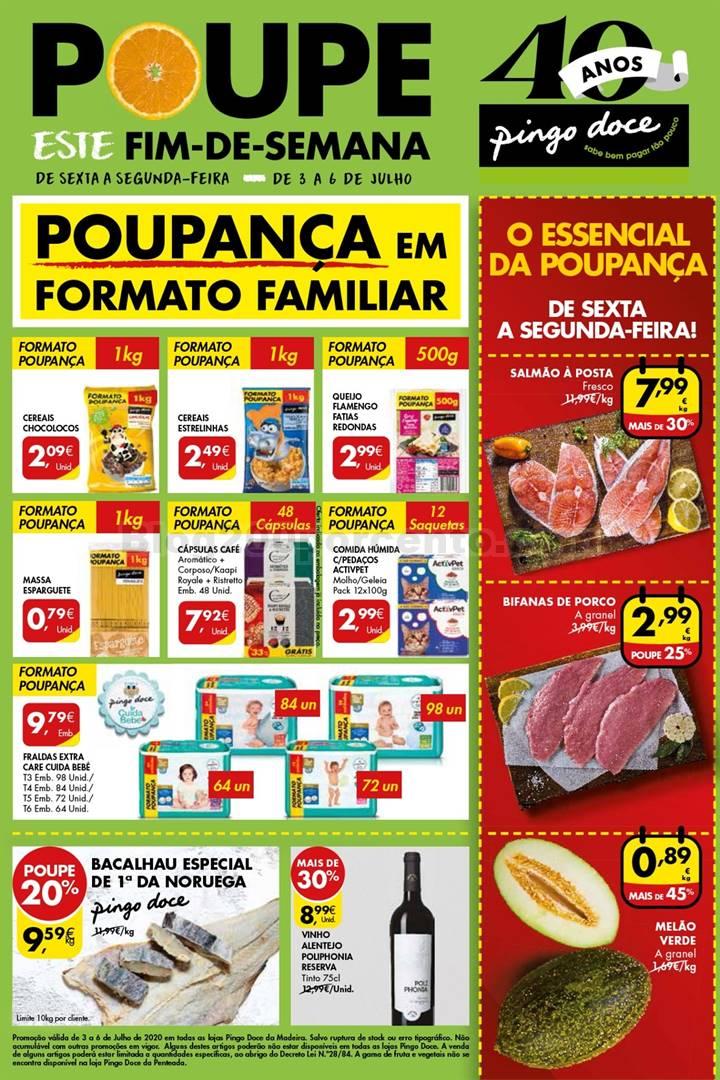 Antevisão Folheto PINGO DOCE Madeira Fim de Semana - 3 a 6 julho p1.jpg