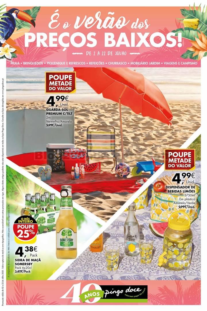 Antevisão Folheto PINGO DOCE Verão a Preços Baixos Promoções de 2 a 22 julho d1.jpg