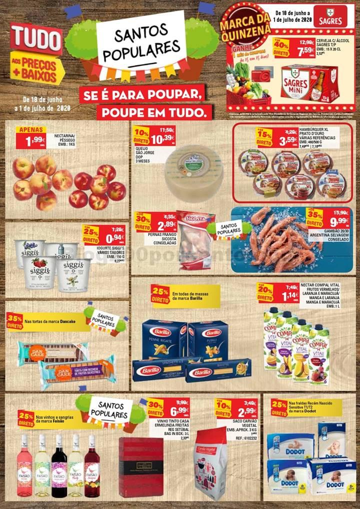 Antevisão Folheto CONTINENTE Açores Promoções de 18 junho a 1 julho p1.jpg