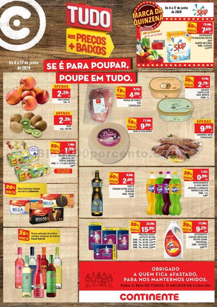Antevisão Folheto CONTINENTE Açores Promoções de 4 a 17 junho p1.jpg