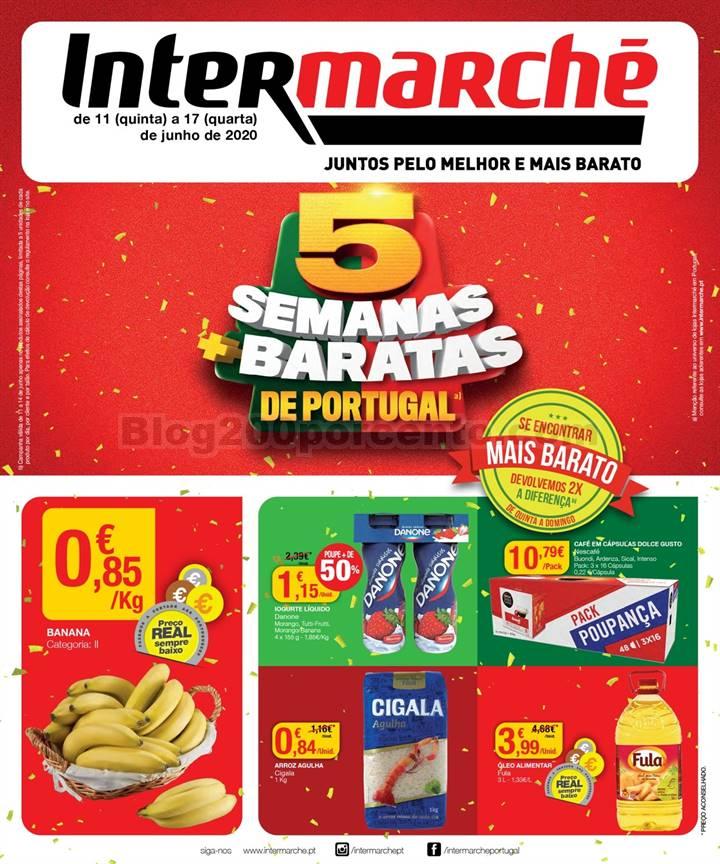 Antevisão Folheto INTERMARCHÉ Contact Promoções de 11 a 17 junho  p1.jpg