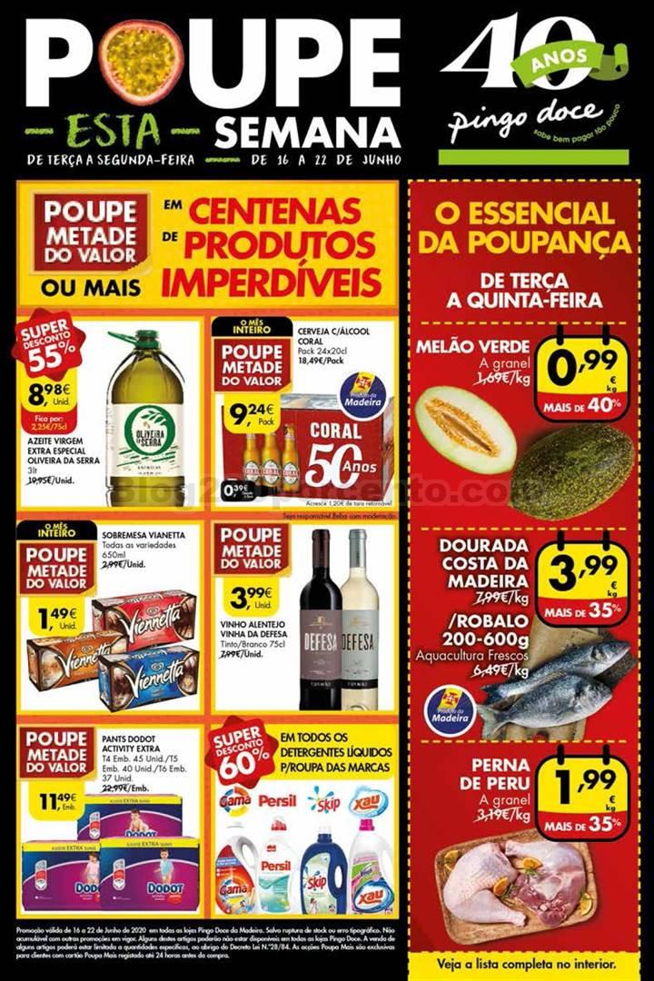 Antevisão Folheto PINGO DOCE Madeira Promoções de 16 a 22 junho p1.jpg