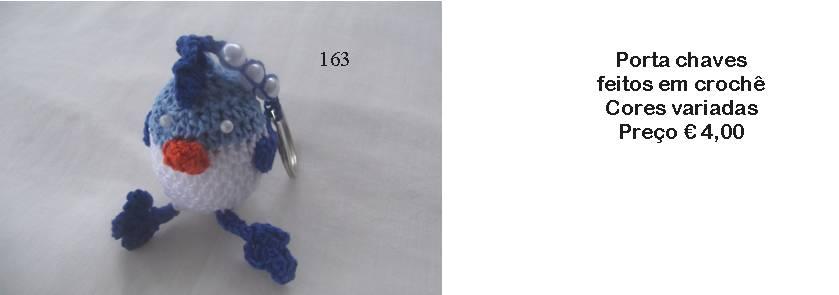 Porta chaves em crochê - Manuel A. M. Pacheco - Artesanato 55834942f20