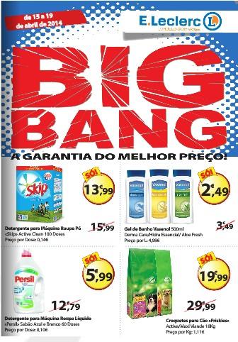 Novo folheto | E-LECLERC | Lordelo - Big Bang de 15 a 19 abril