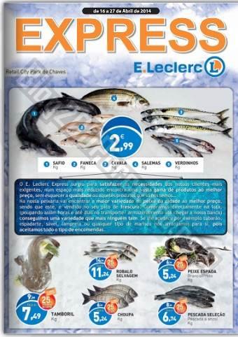 Antevisão Folheto | E-LECLERC | Chaves de 16 a 27 abril