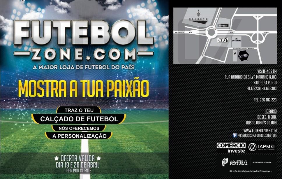 Oferta | FUTEBOLZONE.COM | personalização de calçado de futebol