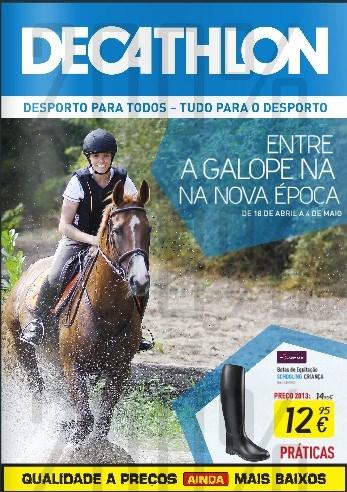 Antevisão folheto | DECATHLON | de 18 abril a 4 maio - Equitação