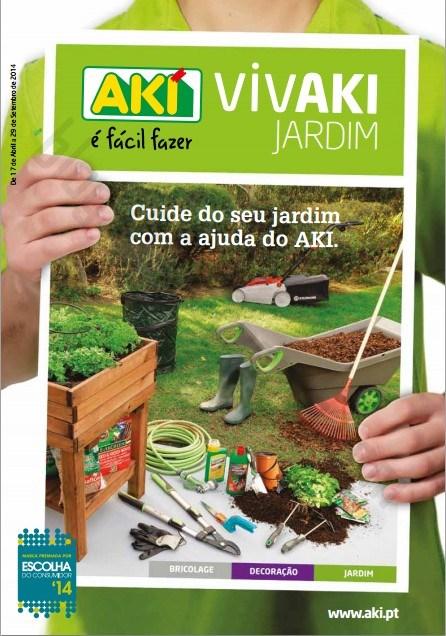 Novo folheto | AKI | jardim até 29 setembro