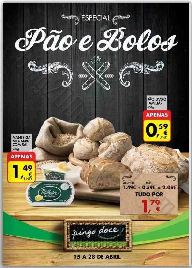 Novo folheto | PINGO DOCE | até 28 abril - Especial Padaria