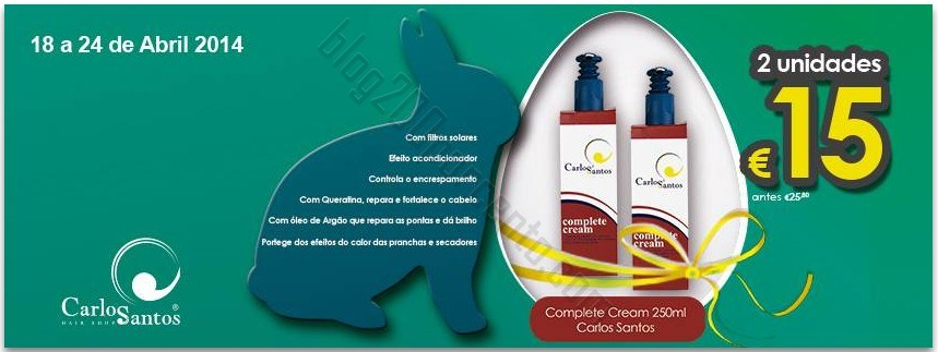 Promoção | CARLOS SANTOS HS | até 24 abril