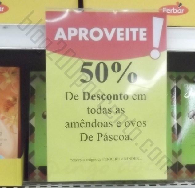 50% em ovos de chocolate e amêndoas | PINGO DOCE | dias 20 e 21 abril