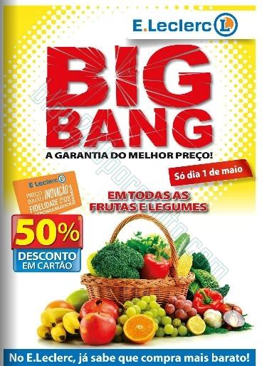 Antevisão folheto | E-LECLERC | BigBang de 1 a 4 maio