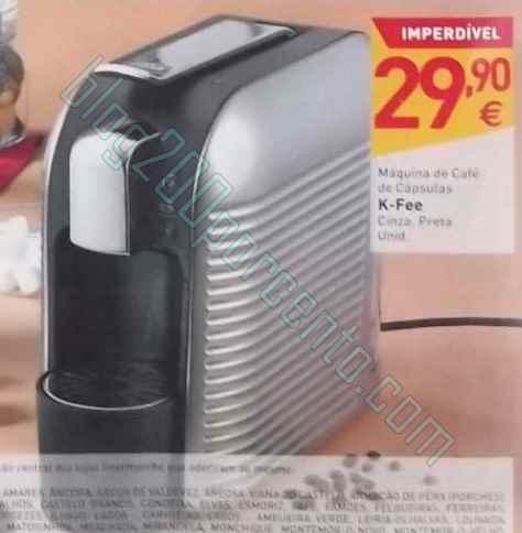 Destaque | INTERMARCHÉ | de 6 a 12 maio, Maquina Café a 29,90€