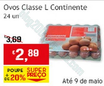 Super Preço | CONTINENTE | de 8 a 9 maio - Ovos
