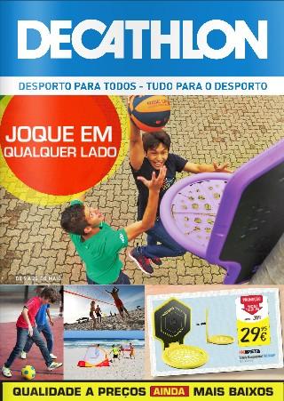 Novo folheto | DECATHLON | até 25 maio - Jogue em qualquer lado