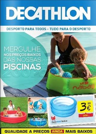 Novo folheto | DECATHLON | de 17 maio a 1 junho - Piscinas
