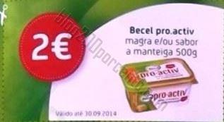 Acumulação 50% + vale PINGO DOCE de 5 a 11 agosto - Becel