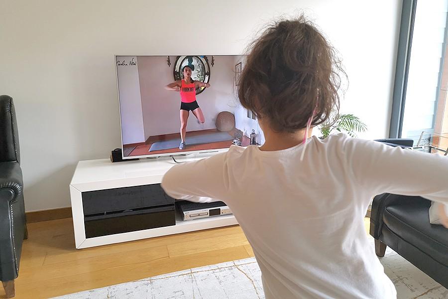 Quer ter aulas com um personal trainer em casa?