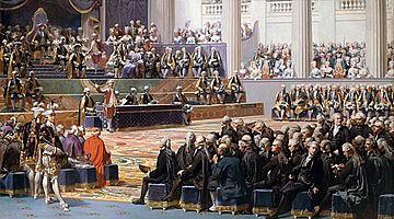 Séance d'ouverture de l'assemblée des États généraux, 5 mai 1789.