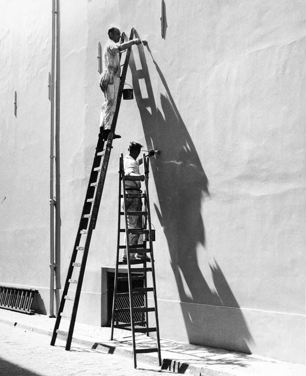 Kees Scherer, The Netherlands, probably early 1960s Painters-at-Work.jpg