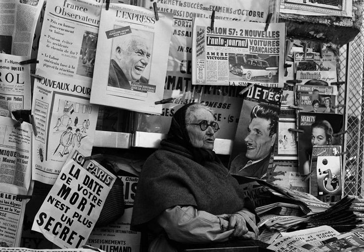 Picking up the newspaper on the 13th September, 1957.jpg