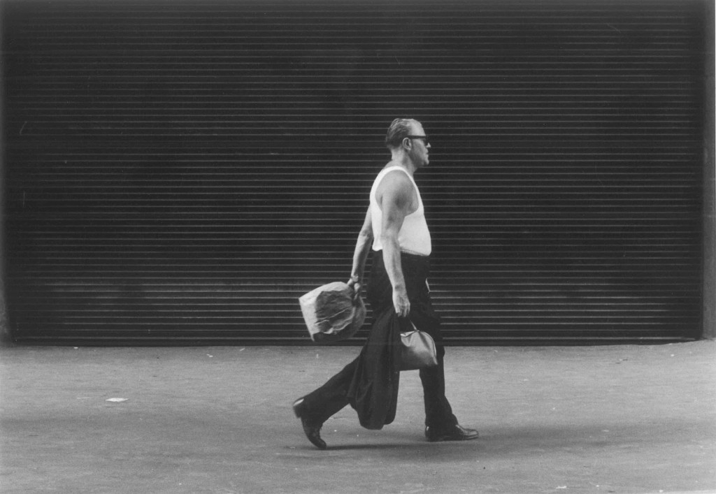 "From ""All the Lonely People"" sidewalk series, New York City, early 1960s Gert Berliner.jpg"
