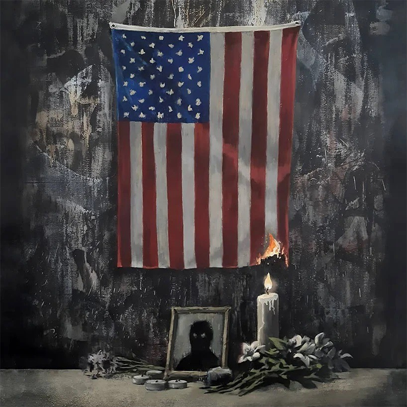 banksy-anti-racism-artwork-burning-US-flag-george-floyd.jpg