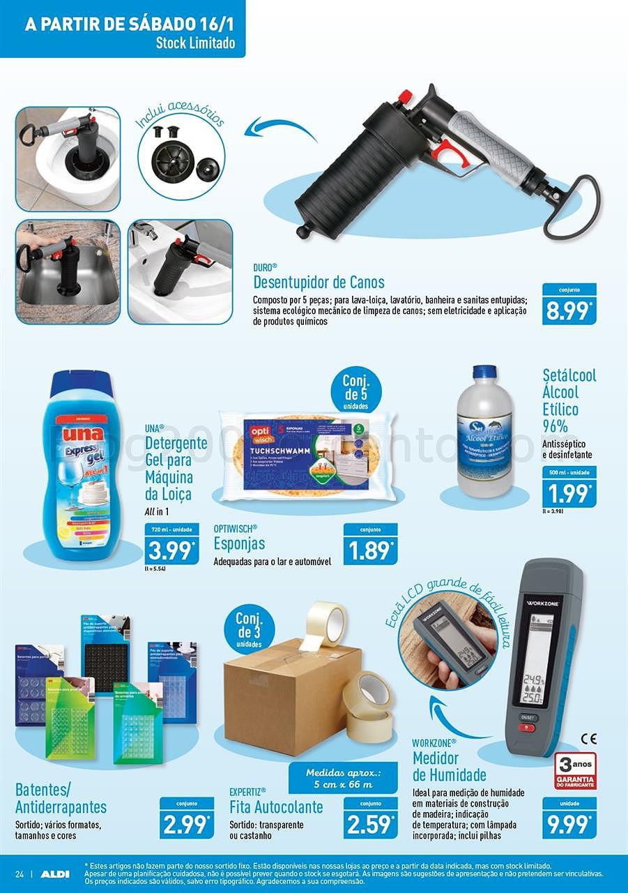 Antevisão folheto ALDI Promoções de 13 a 19  janeiro