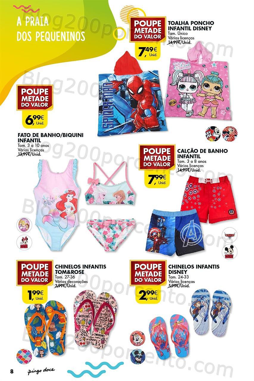 Pingo Doce Folheto Bazar Verão