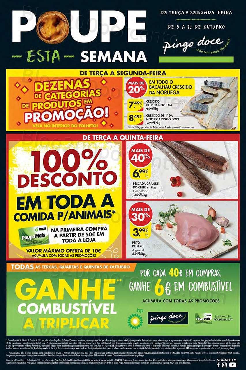 Antevisão Folheto PINGO DOCE Lojas Pequenas 5 a 11 outubro