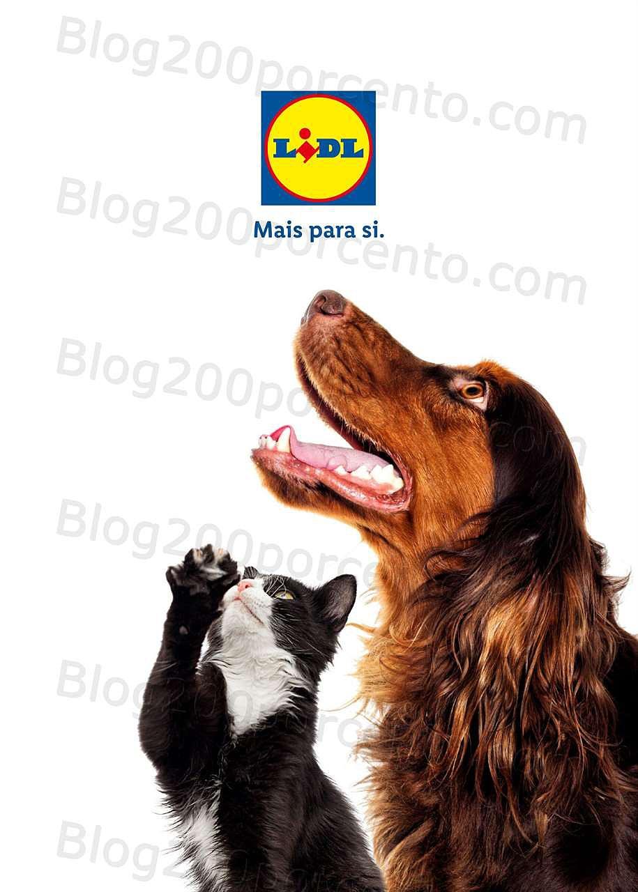 Antevisão FOlheto LIDL Pets a partir de 30 setembro