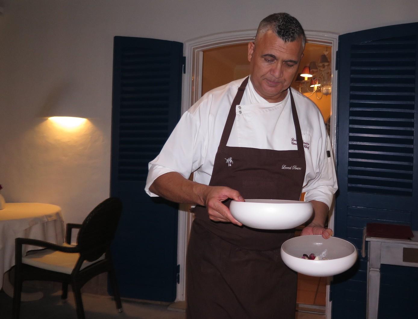 Leonel Pereira e a terceira sobremesa