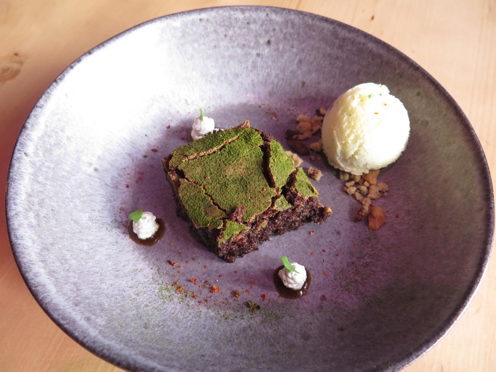 MATCHA BROWNIE