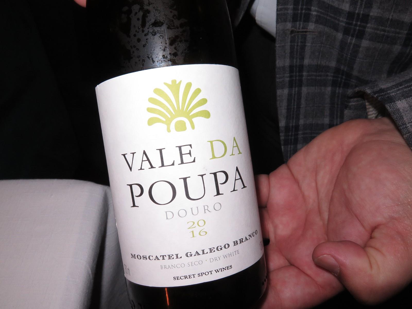 Vale da Poupa Moscatel Galego Branco 2016