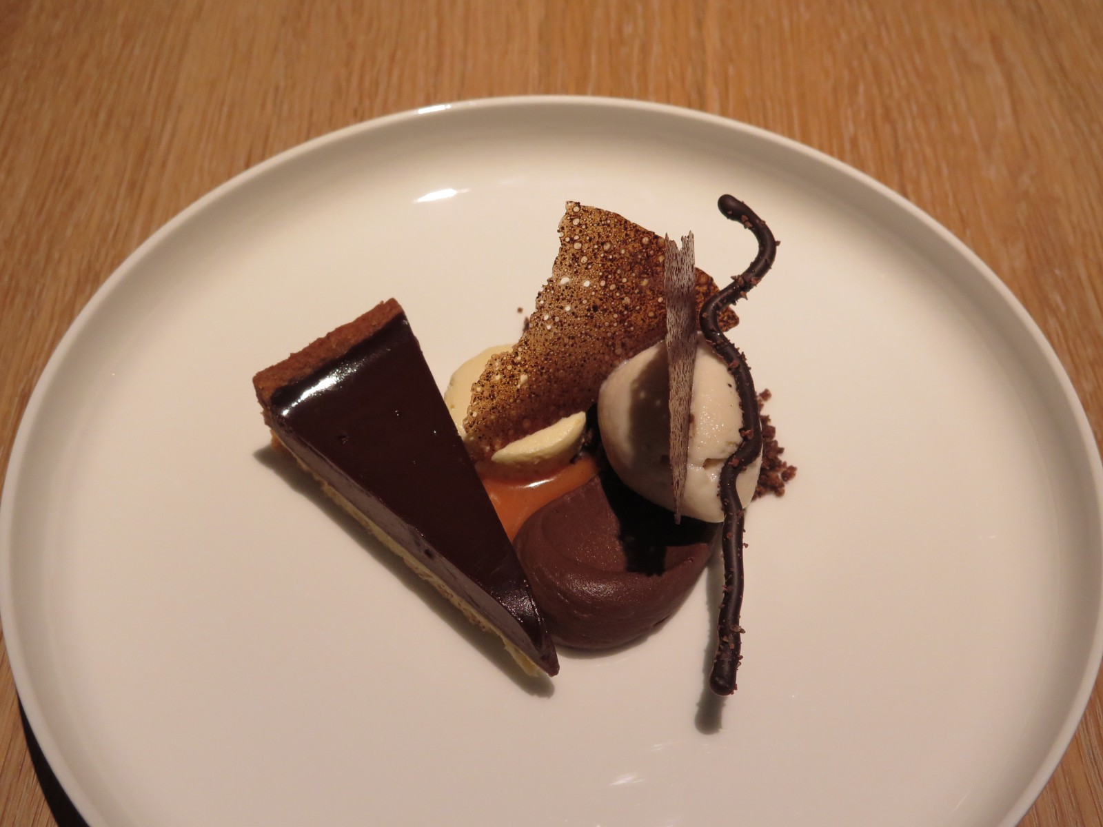 Chocolate / Sarraceno / Parfait Glacée Whisky