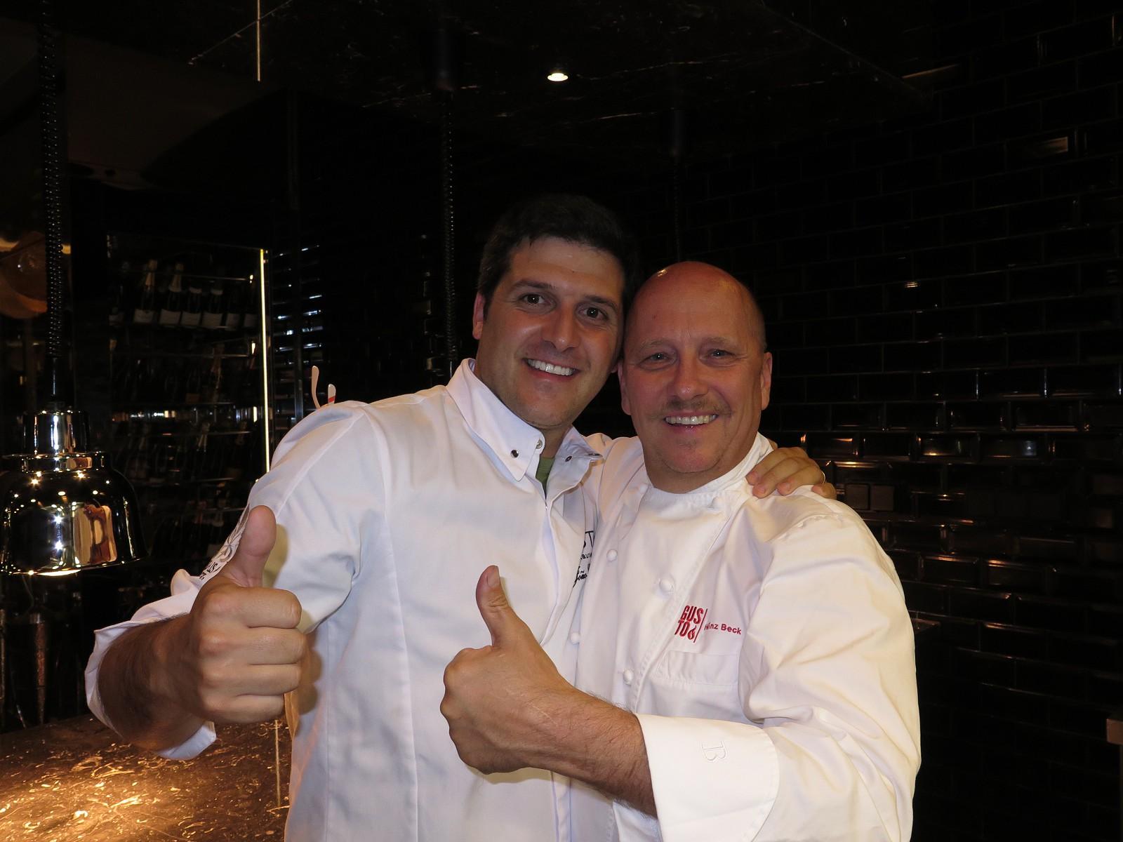 João Oliveira e Heinz Beck