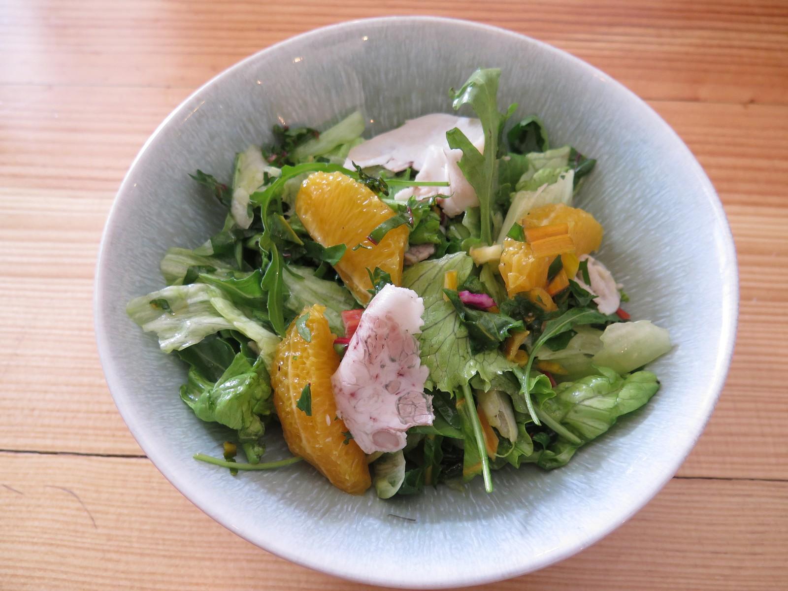 Salada de Laranja e Papada