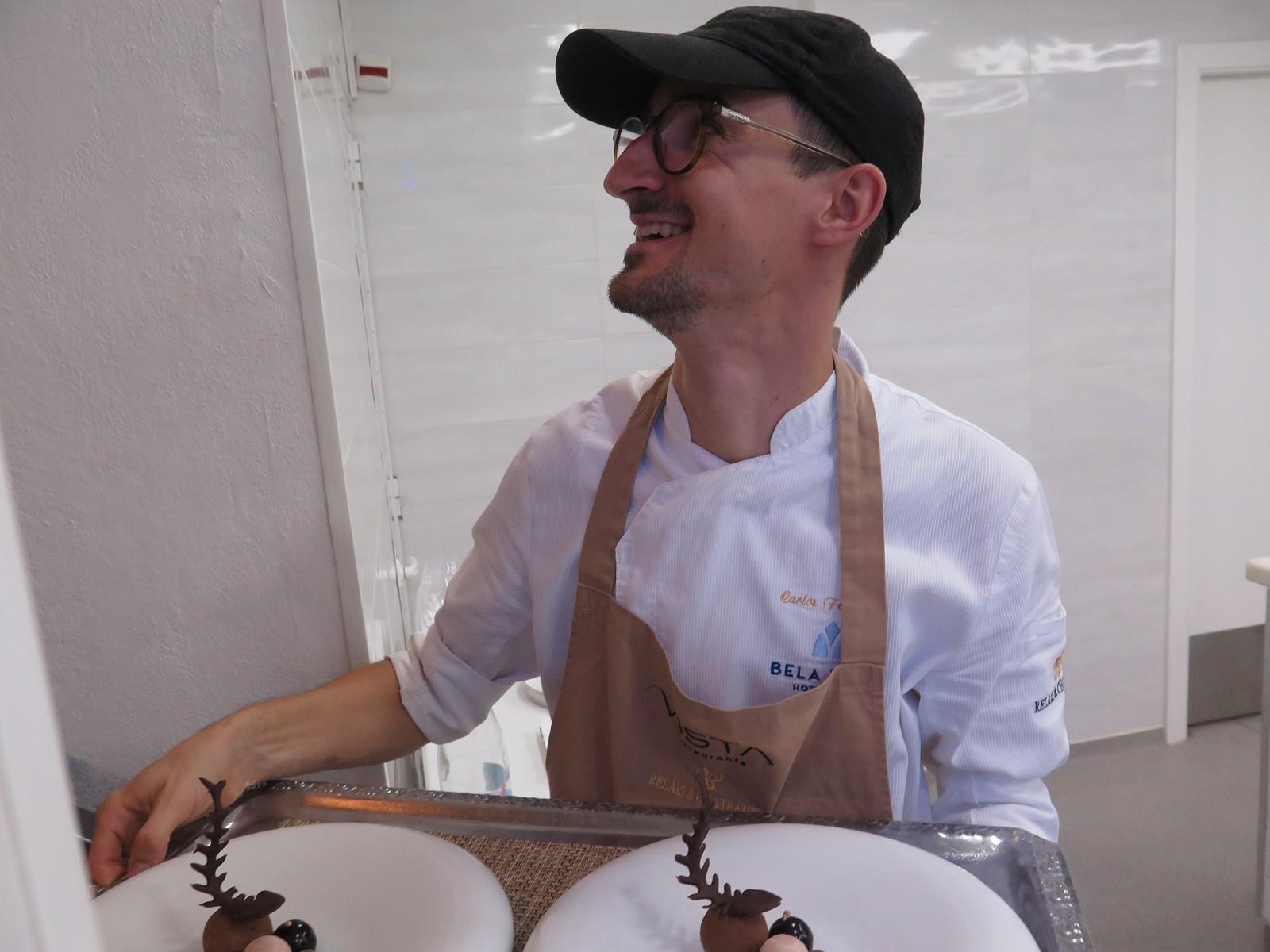 Chef Pasteleiro Carlos Fernandes