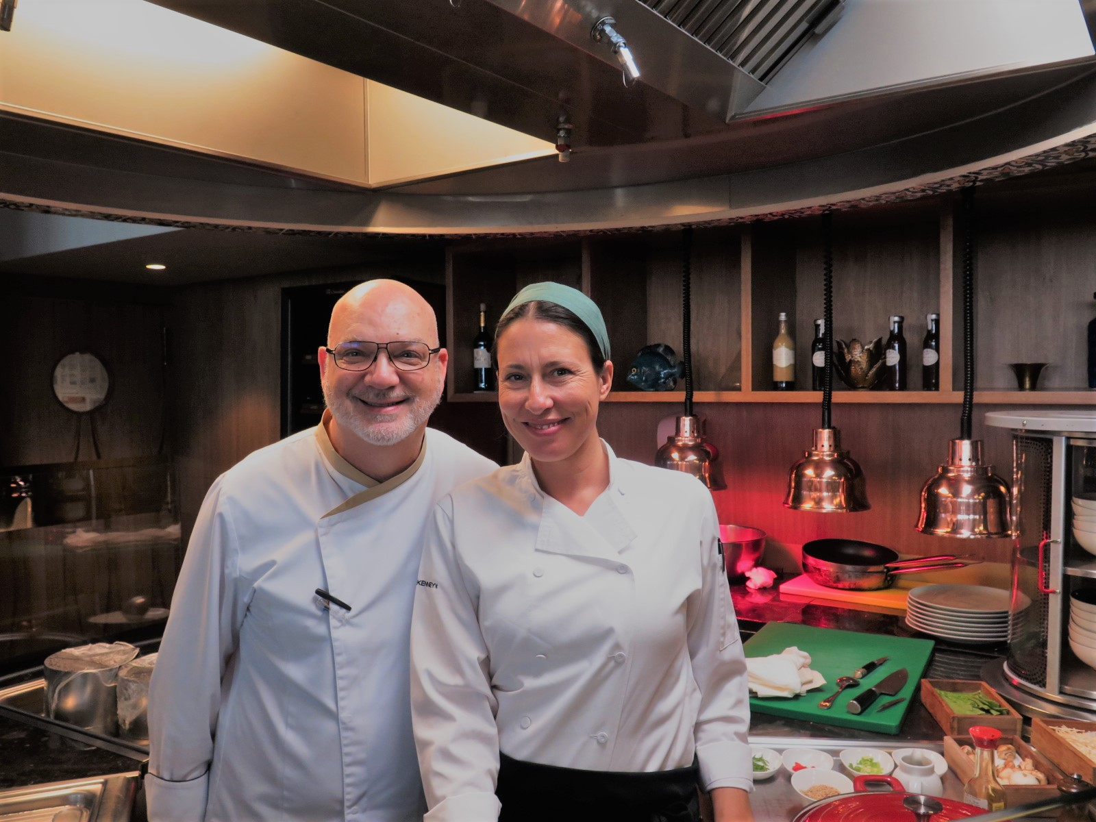 Chef Eddy Melo e Chef Sarah Maraval (The Green Chef)