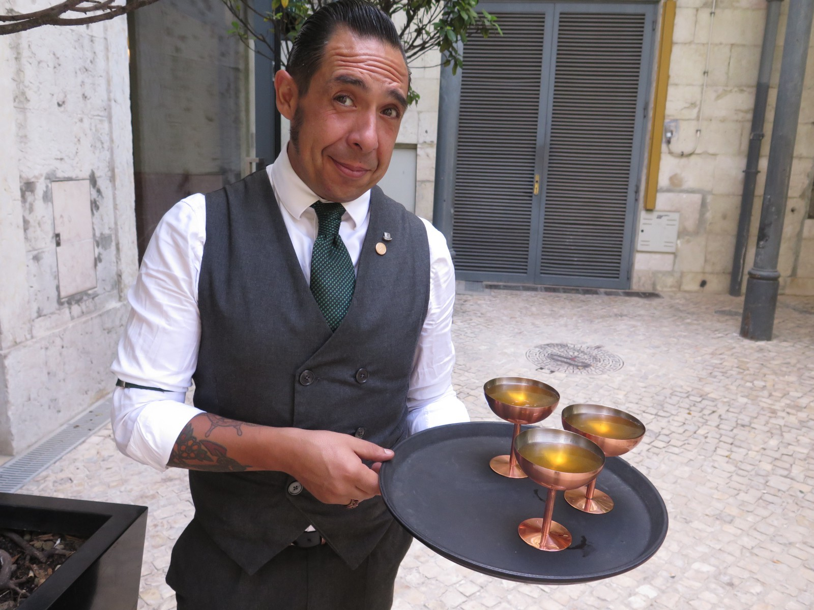 Head Bartender Vasco Martins