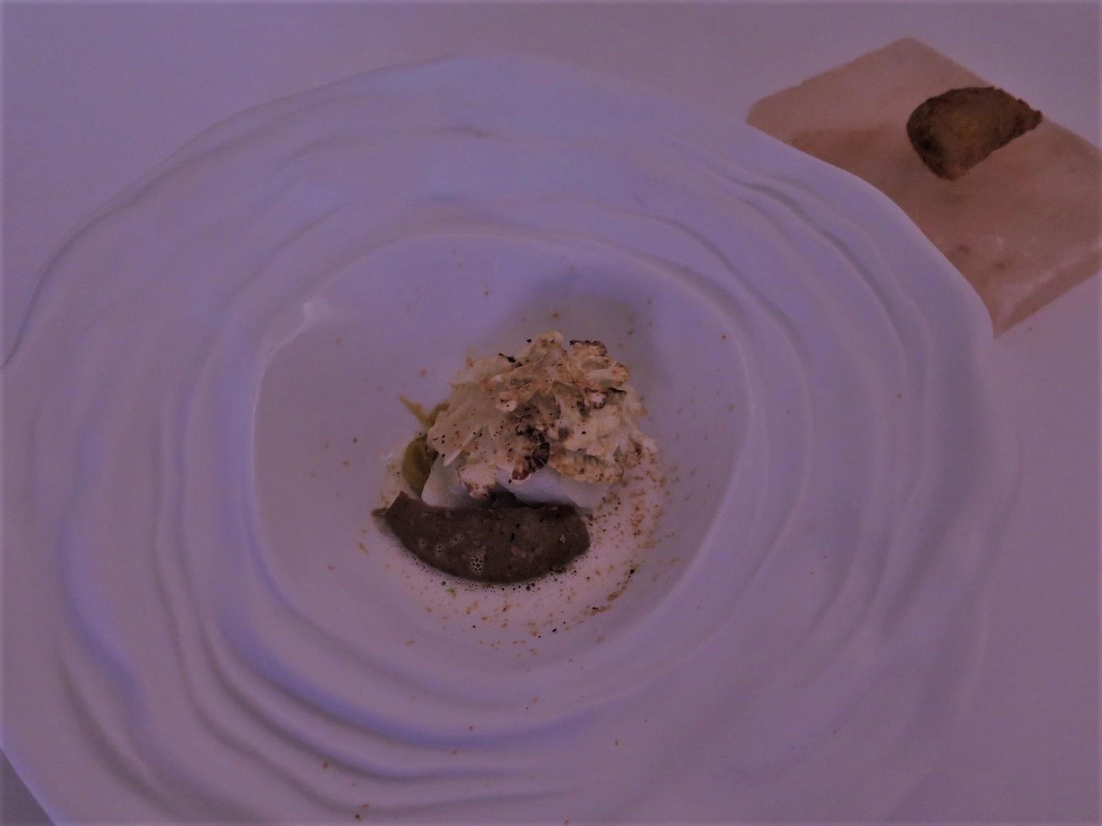 """Bacalhau salgado seco da Noruega escondido na couve-flor"" (Miguel Marques, 1.º lugar)"