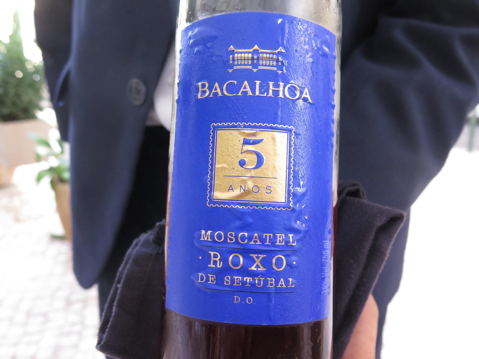Bacalhôa Moscatel Roxo de Setúbal 5 Anos