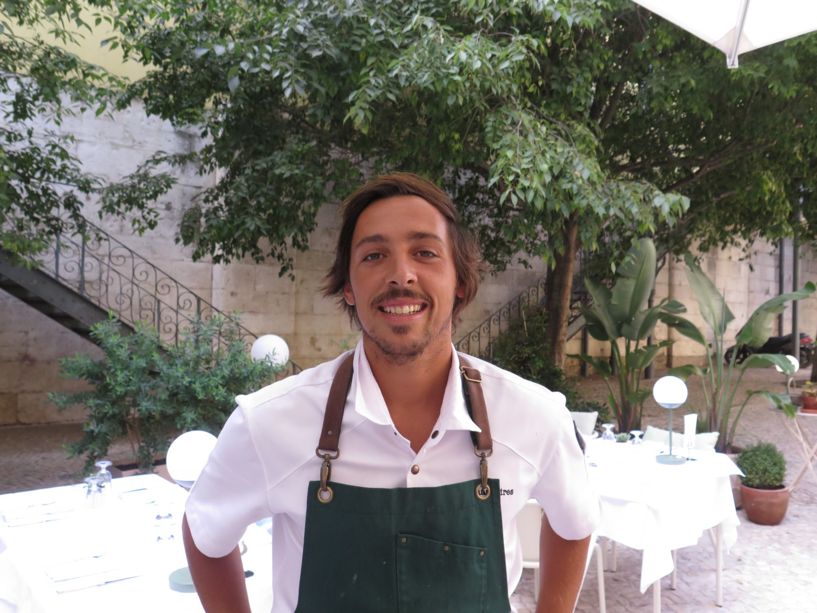 Head Chef Tomás Pires