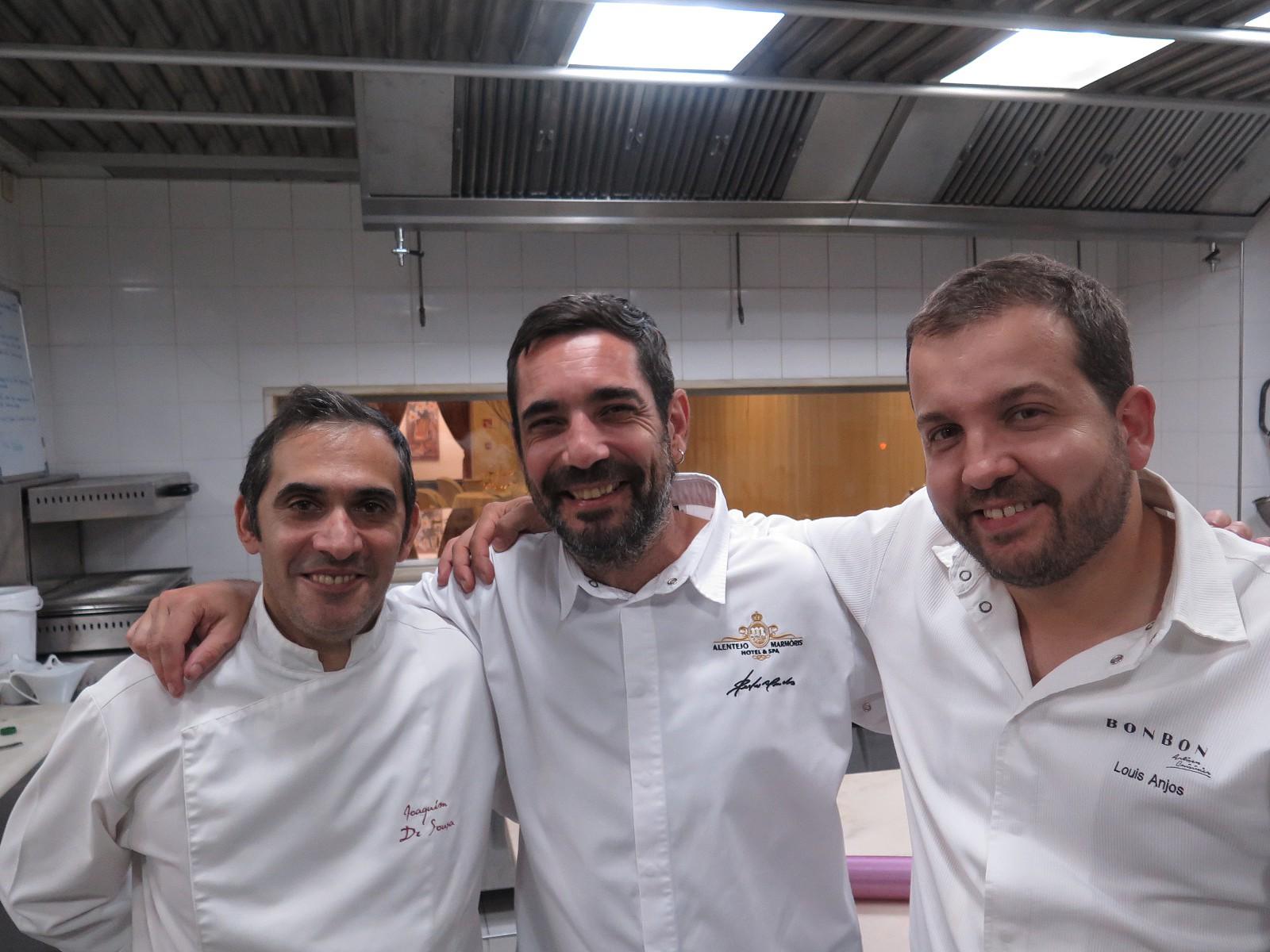Joaquim de Sousa, Pedro Mendes, Louis Anjos