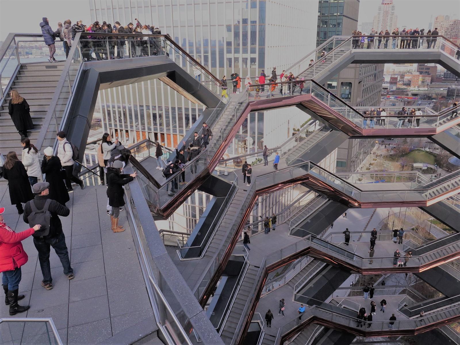 The Vessel, novo ícone da cidade de Nova Iorque
